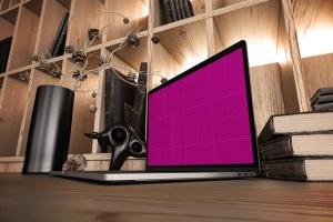 真实场景Macbook笔记本网页UI设计展示样机v1 MacBook Pro V.1插图13