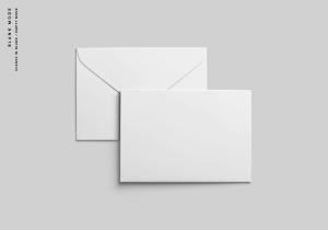 C6信封外观设计样机模板 C6 Envelope Mockup插图10