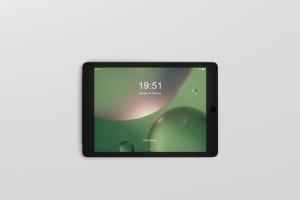 iPad平板电脑屏幕设备样机 Tablet Screen Mockup插图6