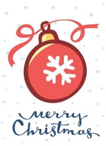 圣诞节&新年庆祝主题简易矢量手绘图形素材 Collection of Christmas cards插图3