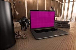 真实场景Macbook笔记本网页UI设计展示样机v1 MacBook Pro V.1插图8