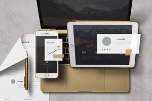 个性化APP&网站设计效果预览样机 App / UI Kit Mockups插图8