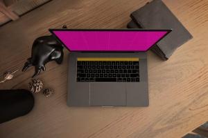 真实场景Macbook笔记本网页UI设计展示样机v1 MacBook Pro V.1插图12