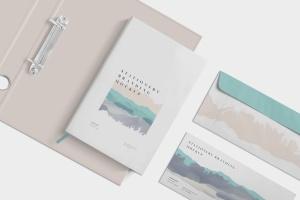 企业品牌VI设计预览办公用品样机模板 Stationery Branding Mockup Scenes插图4