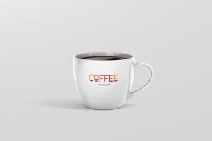 逼真咖啡杯马克杯样机模板 Coffee Cup Mockup插图6