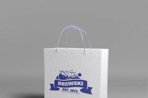 冷饮品牌设计样机模板[不锈钢冰摇杯/马克杯/玻璃杯/纸袋] Branded Products Mock-up V2插图7