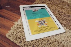 响应式网站设计iPad&Macbook显示效果样机模板 Responsive iPad Macbook Display Mock-Up插图8