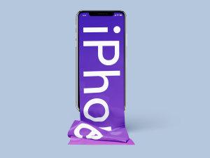 不一样的长滚动创意界面 iPhone X 样机 Free Long Scroll iPhone X Mockup插图5