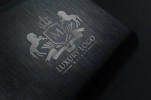 奢华 Logo 标志样机 Luxury Logo Mockup V1插图2