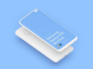 三星智能手机S10超级样机套装 Samsung Galaxy S10 Mockups插图44