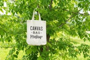 帆布手提袋样机模板 Canvas Bag Mockup插图8