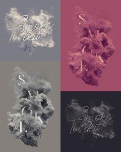烟雾萦绕视觉特效PS素材大礼包[3.03GB] Smoke Toolkit 2插图4