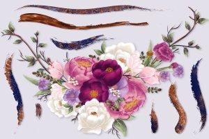 插画家的数字绘画艺术水彩粉墨画笔插图(2)