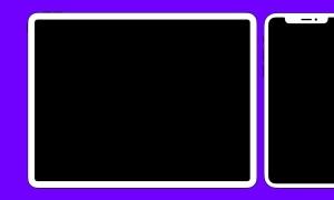iPad&iPhone XS扁平设计风格UI设计预览样机 iPad and iPhoneXS flat mockup 2019插图2