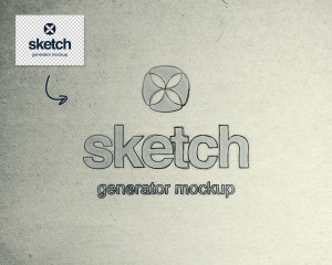 素描绘画生成器PS样机 Sketch Generator Photoshop Mockup插图2