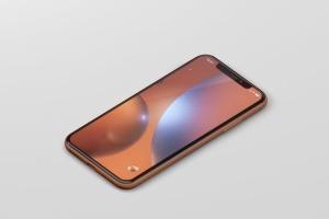 高品质iPhone XR智能设备样机 Phone XR Mockup插图2