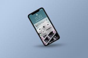 多角度的高品质iPhone X样机VI展示模型mockups插图5