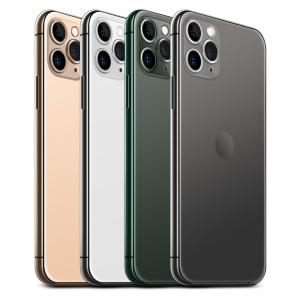 2019全新一代iPhone 11 Pro侧立面正反面视图样机模板 iPhone 11 Pro Layered PSD Mock-ups插图5