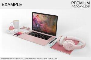 苹果MacBook Pro笔记本电脑样机展示模型mockups插图12