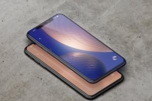 高品质的iPhone XS Max智能手机样机模板 Phone XS Max Mockup插图3