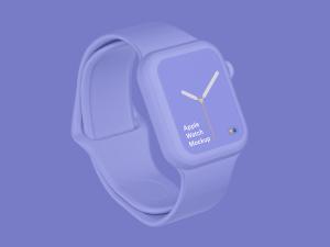 苹果第四代智能手表超级样机套装 Apple Watch 4 Mockups插图36