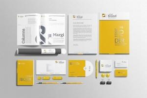 企业品牌VI办公用品样机设计模板V3 Branding-Stationery Mockups V3插图2
