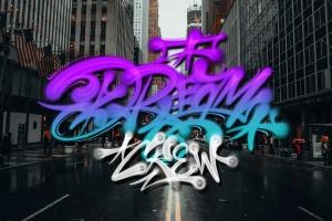 欧美街头涂鸦艺术PS笔刷下载插图3