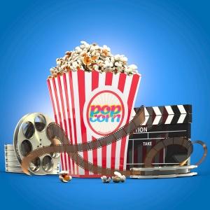 电影之夜爆米花电影院场景样机模板 Movie Night Mockup插图3