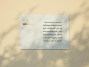 品牌VI设计系统办公用品印刷品套件样机 Stationary Mockup — Set 1插图16