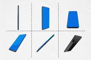 三星智能手机S10移动应用UI设计预览样机 S10 Kit MockUp插图4