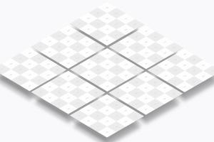 方形自媒体社交宣传设计效果图透视样机03 Square Perspective Mockup 03插图3