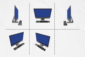 PC网站演示iMac Pro样机套件 iMac Pro Kit插图4