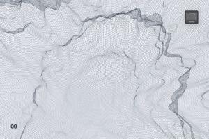 抽象网络信号波纹图案PS笔刷 Network Turbulence Photoshop Brushes插图9