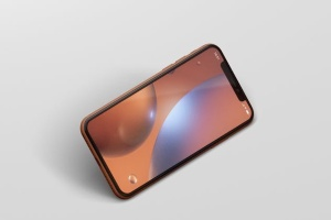 高品质iPhone XR智能设备样机 Phone XR Mockup插图8