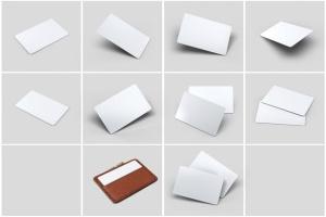 信用卡银行卡设计样机模板 Credit Bank Card Mock-Up插图6