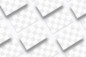 英国标准尺寸企业名片设计样机03 UK Business Cards Mockup 03插图4
