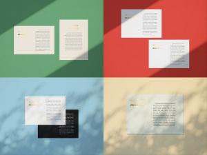 品牌VI设计系统办公用品印刷品套件样机 Stationary Mockup — Set 1插图7