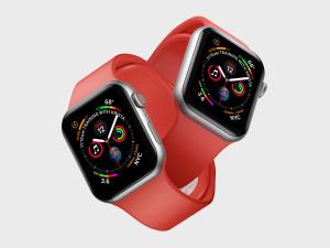 苹果第四代智能手表超级样机套装 Apple Watch 4 Mockups插图3