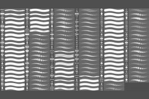 52个珠宝PS动态画笔 Jewelry Dynamic Brushes插图(3)