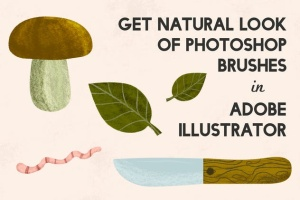 铅笔数码绘画AI画笔笔刷 Pencilcraft Brushes for Adobe Illustrator插图(3)
