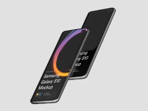 三星智能手机S10超级样机套装 Samsung Galaxy S10 Mockups插图21