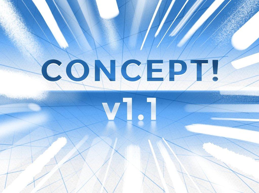 创意概念PS笔刷工具包 CONCEPT! a PS CS6+ brush set插图