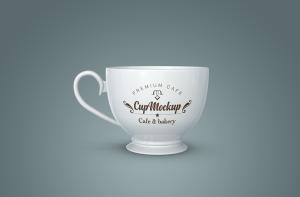 陶瓷茶杯咖啡杯外观设计样机模板v2 Cup Mockup 2.0插图6