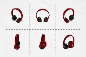 音乐头戴耳机设备样机套装 Headphones Mockup Kit插图3
