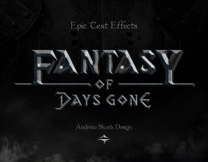 史诗文字标题字体效果PSD图层样式模板 Epic Text Effects插图5