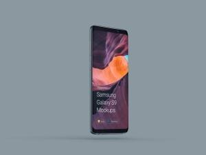 超级主流桌面&移动设备样机系列:Samsung Galaxy S9  三星智能手机样机 [兼容PS,Sketch;共2.11GB]插图4