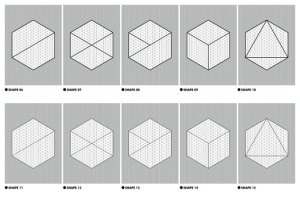 等距网格效果PSD分层模板 Isometric Grid Effects插图3