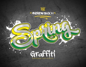 街头涂鸦文字效果PSD分层模板v3 Graffiti Text Effects Vol.3插图8