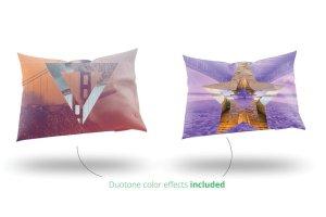 双色调几何形状PSD分层模板 Duotone Geometric Shapes插图5