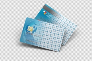 信用卡银行卡设计样机模板 Credit Bank Card Mock-Up插图2